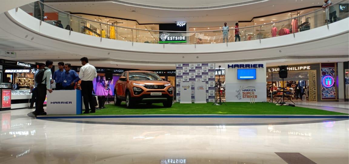 Tata Harrier - Mall Activation