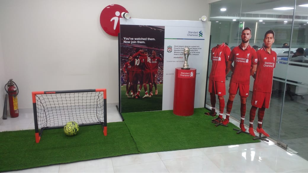 Standard Chartered - Football Tournament Activation Multi Citites