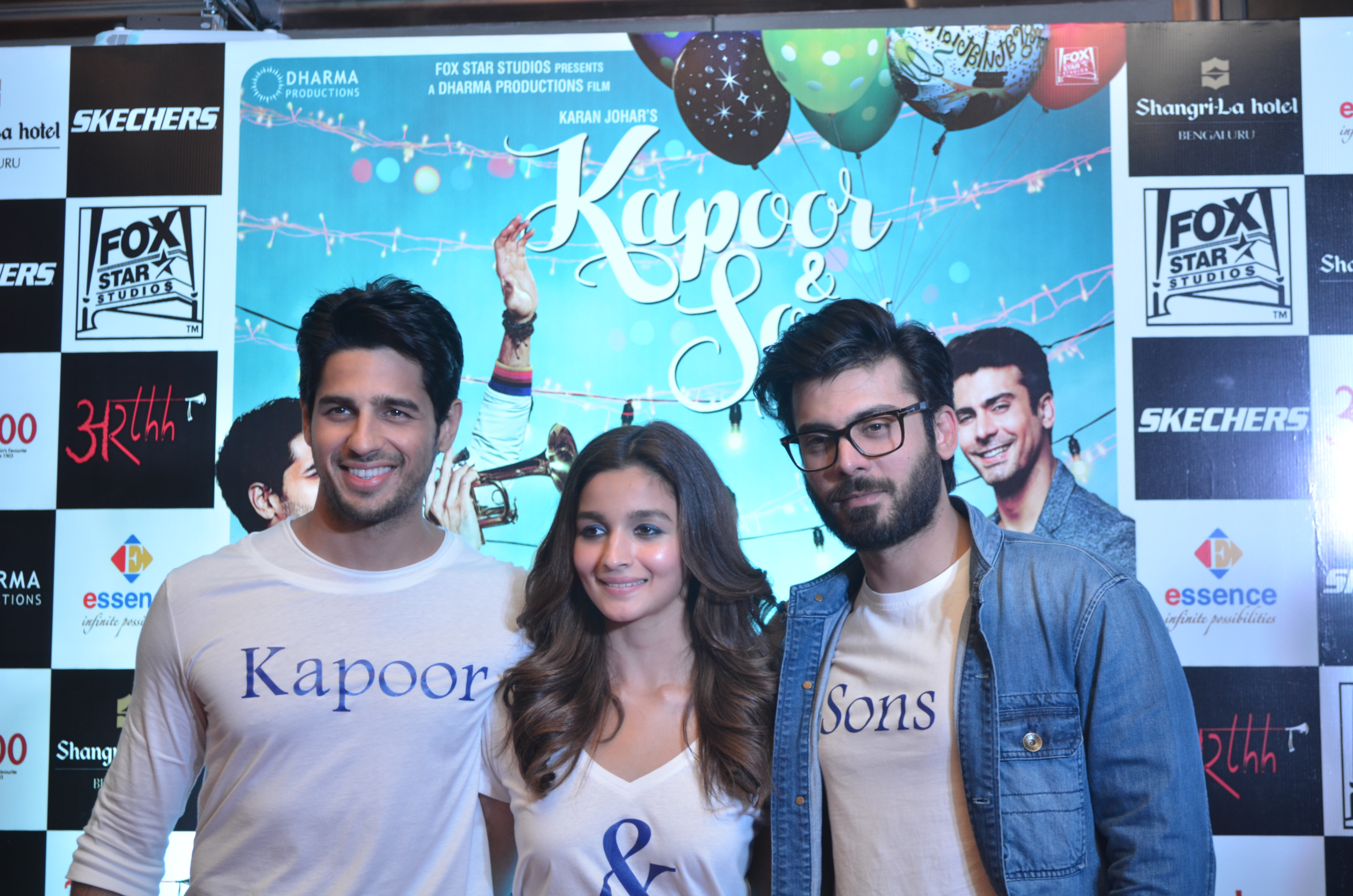 Kapoor & Sons Movie Promotion