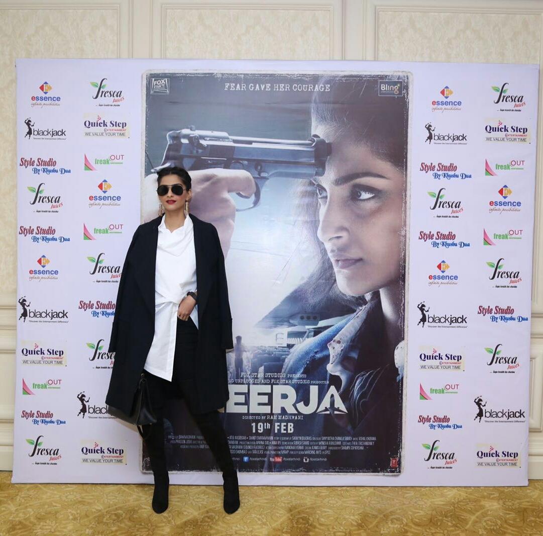 Neerja Movie Promotion