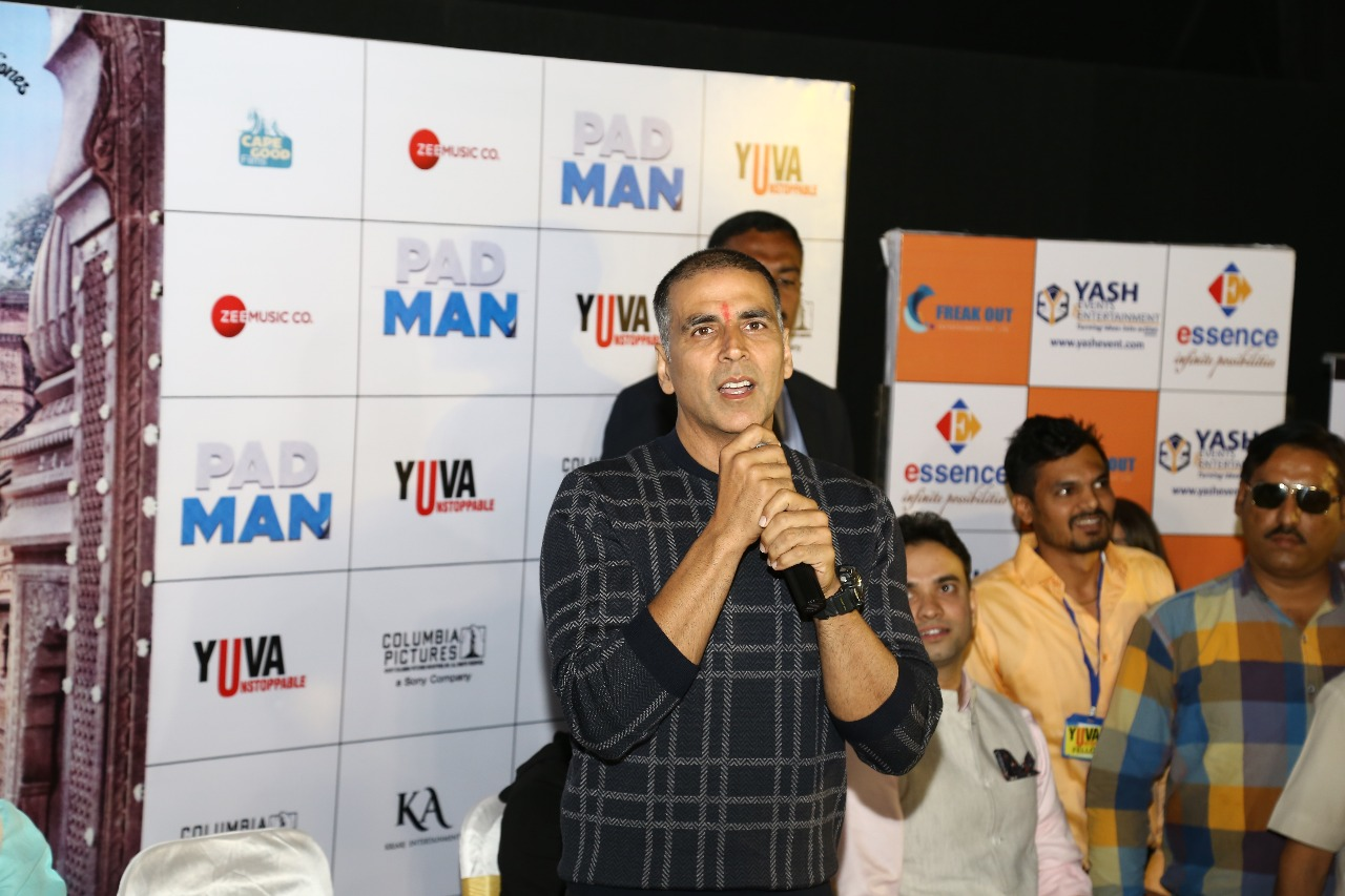 Padman Movie Promotion