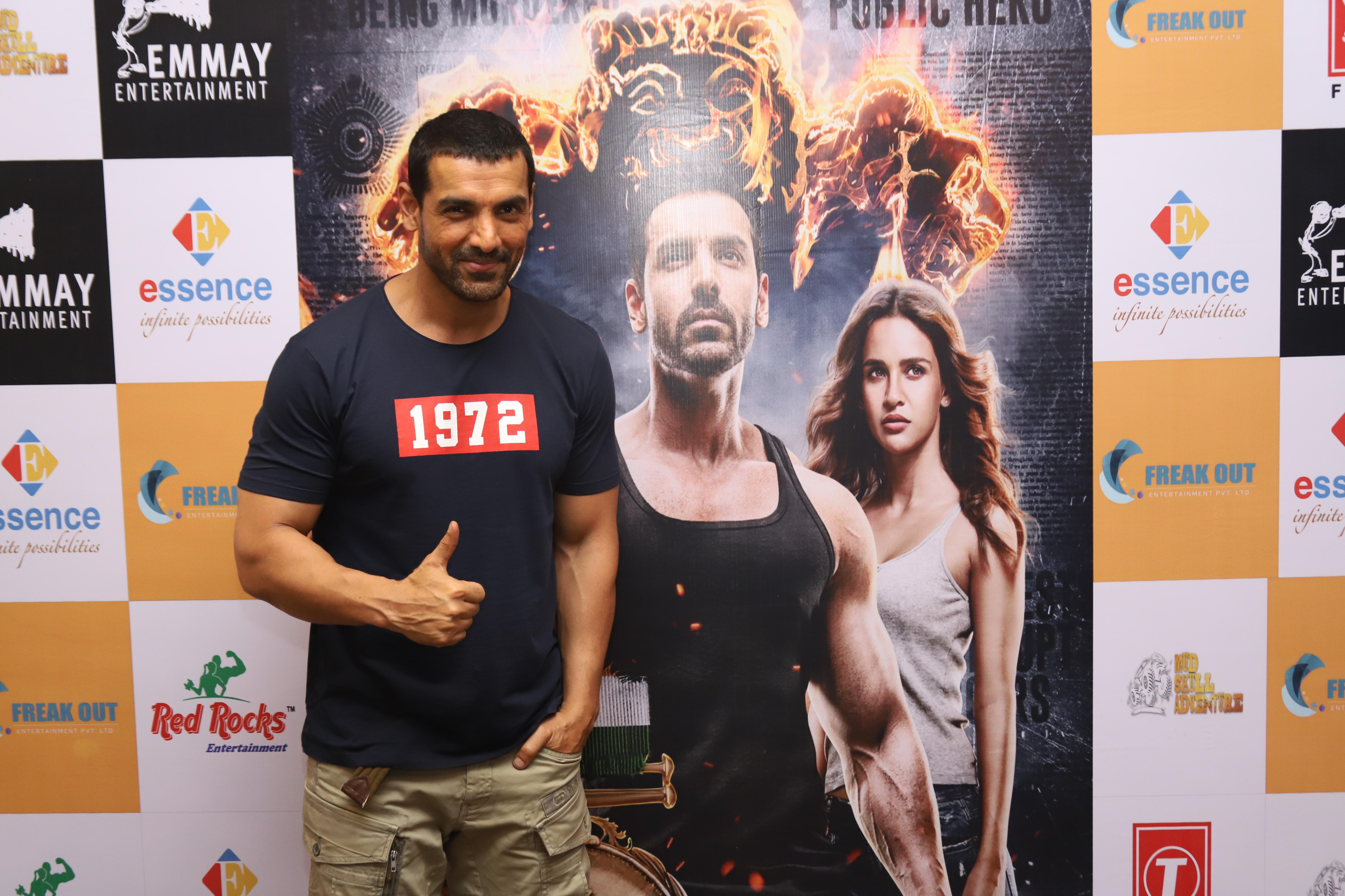 Satyamev Jayate Movie promotion