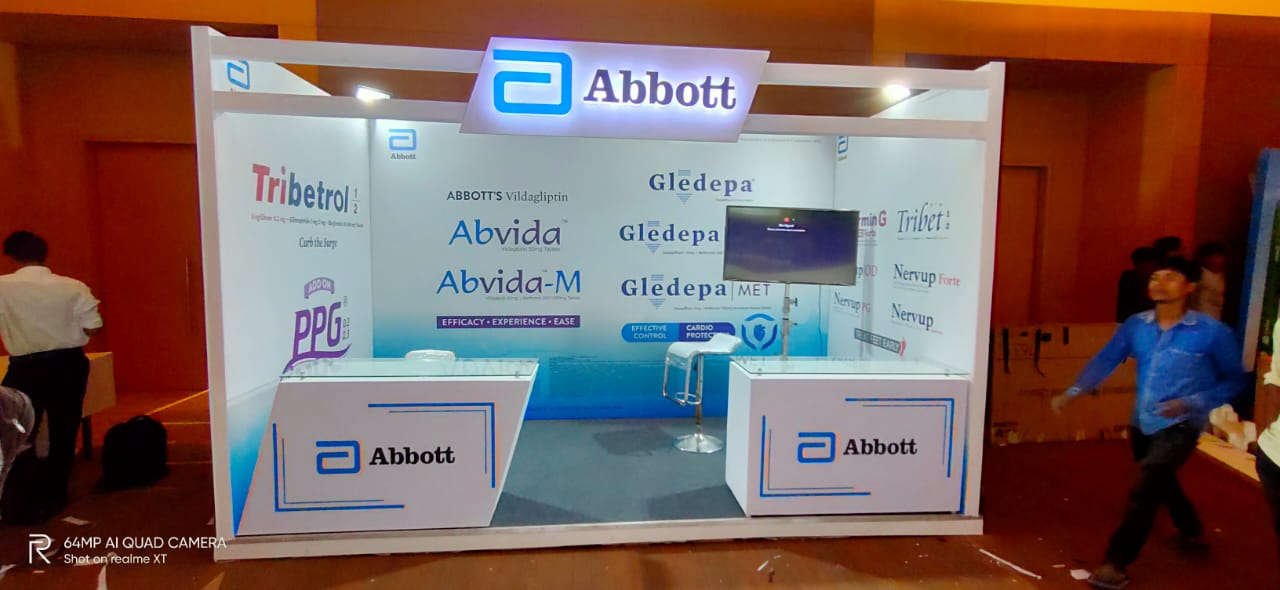 Abbott-Diabetes Stall,Mumbai