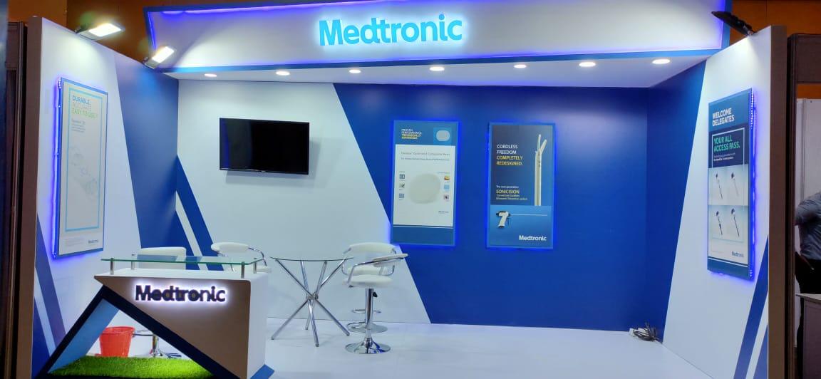Medtronics Stall