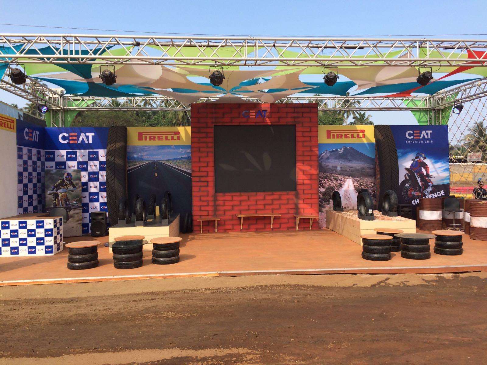 CEAT - Indian Bike Week,Goa