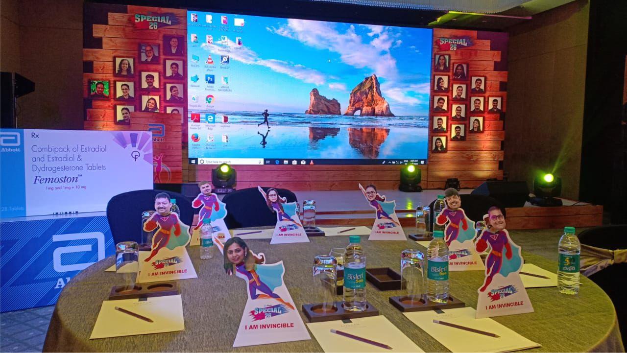 Abbott-Miliana Sales Meet, Bangalore